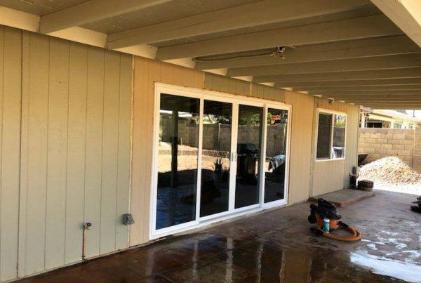 residential sliding glass patio door