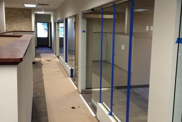 glass office walls and doors