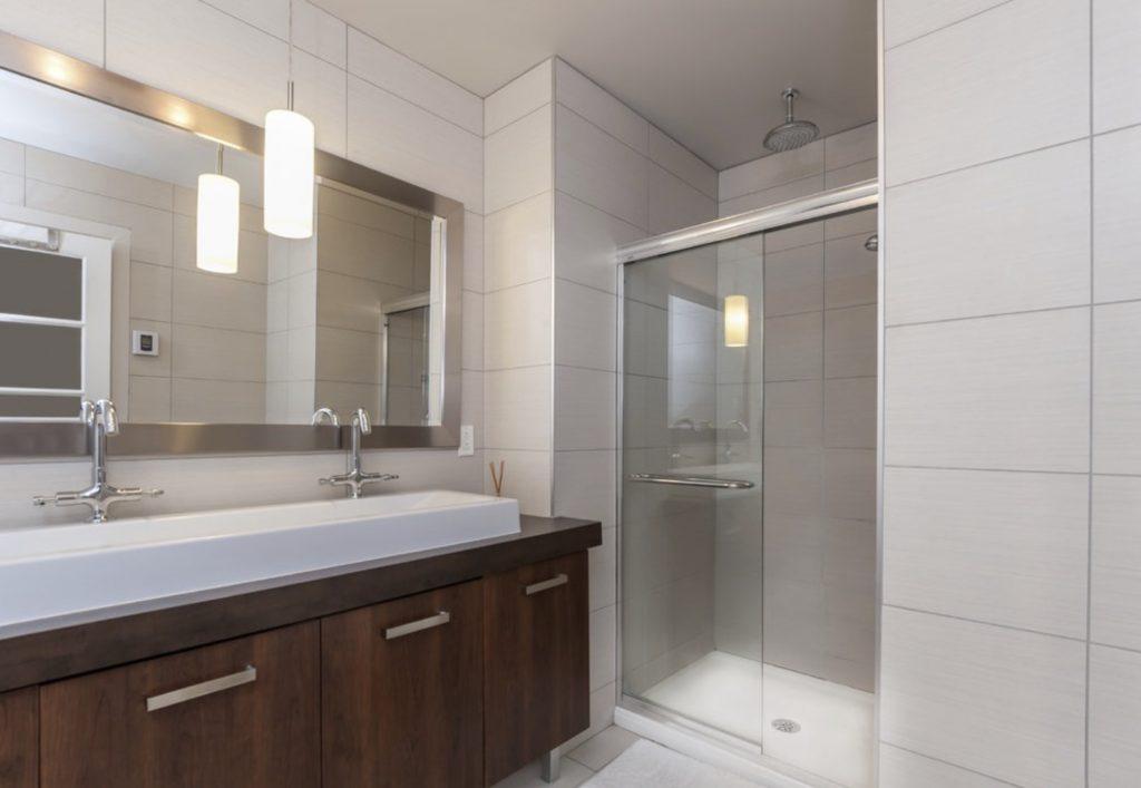 bypass glass shower doors